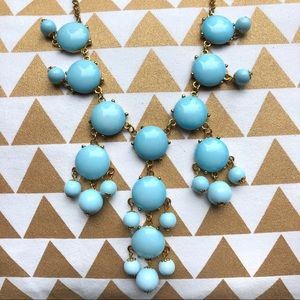 Baby Blue Statement Necklace